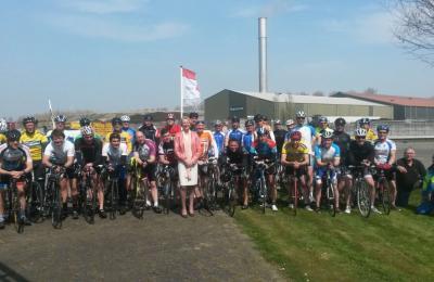 Eerste editie Wielerronde Zeeasterweg succesvol